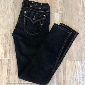 Miss Me jeans. Style No: J5566052 Black Skinny